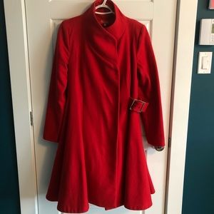 Wool Swing Coat from Heroines Paris